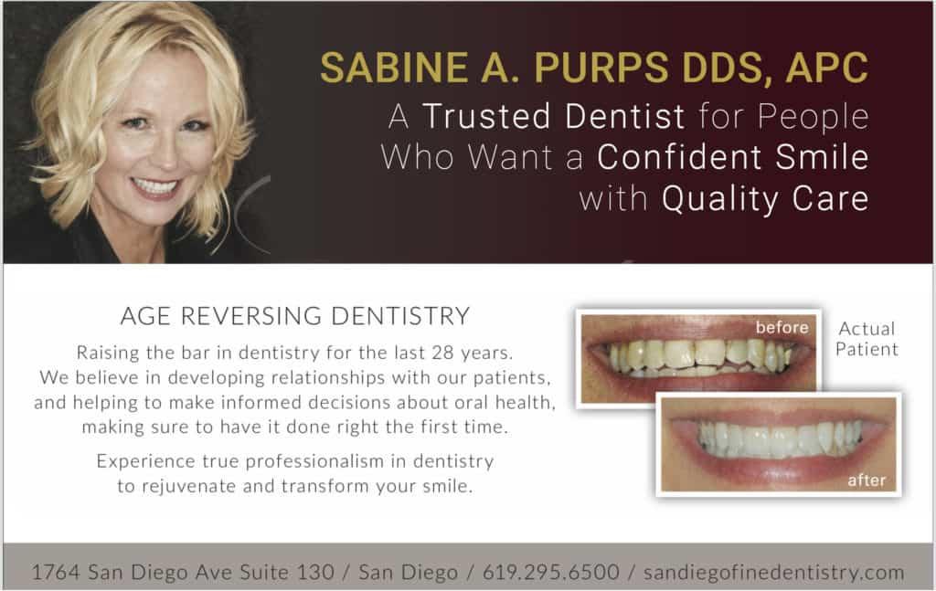 Dr. Sabine Purps San Diego Dentist